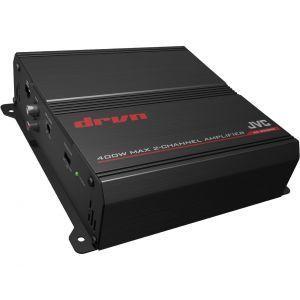 JVC KS-DR3002 Auto pojačalo 2-kanalno pojačalo maksimalne snaga od 400W  sa ugrađenim varijabilnim Low-pass i High-pass filterom.