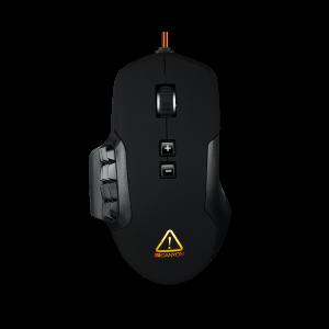 Canyon CND-SGM9 Gejmerski miš sa 17 programabilnih tastera dizajniran je za najsofisticiranije MMO (Massive Multiplayer Online) igrače...