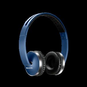 Canyon CNS-CBTHS2BL Bluetooth slušalice sa ugrađenim mikrofonom i kotrolom jačine zvuka, kompatibilne su sa svim pametnim telefonima