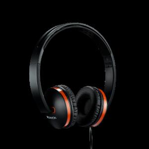 Canyon CNS-CHP4B Slušalice sa mikrofonom kompatibilne sa svim modernim pametnim telefonima i tabletima. Sklopivi dizajn i memorijska pena u jastuku za uši.