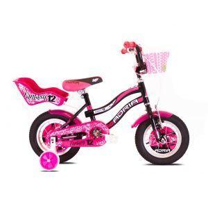 CAPRIOLO Adria Fantasy 12 HT crno pink Bicikl za decu