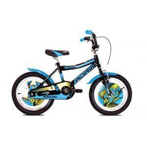 """CAPRIOLO Adria ROCKER 12 HT Crno plavi Bicikl za decu, sa čeličnim ramom, 12"""" točkovima, crno plave boje, namenjan dečacima uzrasta od 2 do 5 godina."""