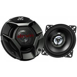 JVC CS-DR420 Auto zvučnici 2-sistemski koaksijalni zvučnici, maksimalne ulazne snage 210W,  nominalne snage 35w RMS, veličine 10cm.