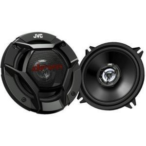 JVC CS-DR520 2 sistemski zvučnici, maksimalne ulazne snage 220W, 35w RMS, veličine 13cm.