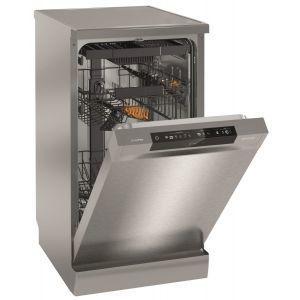 Gorenje GS 54110 X mašina za pranje sudova za 10 kompleta sa 5 programa intenzivni, eco program, program za ispiranje, dnevno pranje i brzi program 20 min.