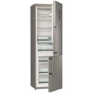 Gorenje NRK 6191 TX Samostalni kombinovani frižider sa zamrzivačem bruto zapremine 329 litara sa NoFrost Plus i Ion Generation tehnologijom.