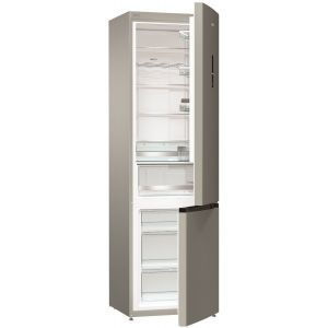Gorenje NRK 6202 MX4 Samostalni kombinovani frižider zapremine 363 litara sa LED ekranom na vratima, i no frost plus i Ion Generation karakteristikama.