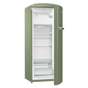 Gorenje ORB 153 OL Samostalni frižider iz Gorenje retro kolekcije, bruto zapremine 260 litara, sa komorom za zamrzavanje i IonAir sa DynamicCooling-om.
