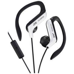 JVC HA-EBR25-WE Slušalice sa ugrađenim mikrofonom i daljinskim upravljačem,  otporne na prskanje, idealne za treninge, trčanje i slično.