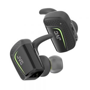 JVC HA-ET90BT-BE Bluetooth bežične slušalice dizajnirne za sigurno i udobno prijanjanje i otpornost na vodu sa baterejiom koja osigurava slušanje 3+6 sati.