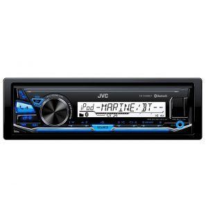 JVC KD-X33MBT Auto radio dizajniran za plovila. Jednostavno povežite Vaš iPhone/Android telefon putem USB-a ili putem automatske Bluetooth konekcije.