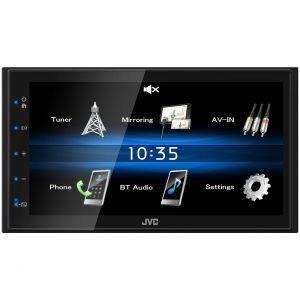 JVC KW-M25BT Multimedija za automobil  sa 6.8 inčnim monitorom USB i Bluetooth tehnologijom povezivanja sa Smart telefonima.