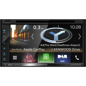 """Kenwood DNX-5180BTS Auto navigacija sa 6.8"""" ekranom osetljivim na dodir, sa podrškom za USB, SD cart, iPod / iPhone i Ugrađenom Bluetooth jedinicom."""