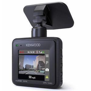 Kenwood DRV-330 Kamera za automobil, prednja kompaktna HD kamera, sa G senzorom i integrisanim GPS-om, koja omoćava snimanje u Full HD rezoluciji.