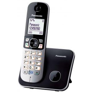 Panasonic KX-TG6811FXB Bežični telefon DECT/GAP sa grafički svetlećim LCD displej od 1.8 inča i tehnologijom smanjenog zračenja ECO dect (One Touch).