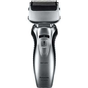 Za jednostavnije i prijatnije brijanje, PANASONIC Aparat za brijanje ES-RW30-S503 sa dve oštrice sa suvo i vlažno brijanje, za galtku kožu i mekano lice.