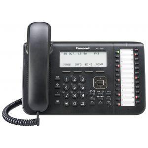"Panasonic KX-DT546-B Sistemski telefon sa 6 rednim LCD ekran, 24 fleksibilnih funkcijskih tastera, One-touch"" i  ""Full Duplex Speakerphone"" i funcijom."