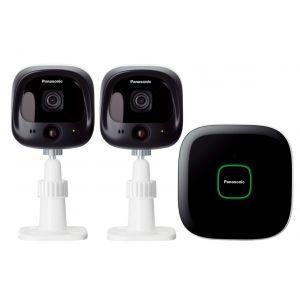 Panasonic KX-HN6002FXW smart home starter paket koji sadrži: 1 Hub, 2 spoljne kamere