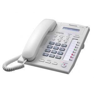 Panasonic KX-T7665 Sistemski telefon sa 1 rednim LCD ekranom, 8 programibilnih tastera sa dvobojnim LED i Spikerfon,  Digital extra device portom itd.