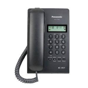 Panasonic KX-T7703X-B Žični telefon sa LCD ekranom u dva reda.
