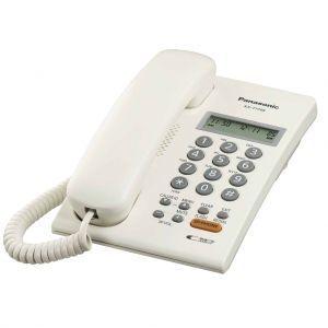 Panasonic KX-T7705X Žični telefon sa  LCD ekranom u dva reda (16 cifara), caller ID, Redial, spikerfonom i mogućnošću  zidne montaže.