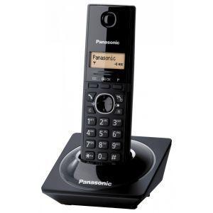 Panasonic KX-TG1711FXB Bežični telefon sa narandžasto osvetljenim displejem, navigacionim tasterom, menijim na 16 jezika - srpski jezik i identifikacijom.