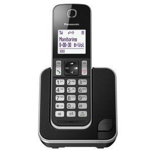 Panasonic KX-TGD310FXB Bežični telefon sa ekranom od 1,8 inča sa grafičkim prikazom, Caller ID, spikerfonom, alarmom, satom itd.