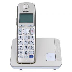 Panasonic KX-TGE210FXN Bežični telefon sa indentifikacijom poziva, Imenikom od 50 unosa i  pozadinskim osvetljenjem tastera.