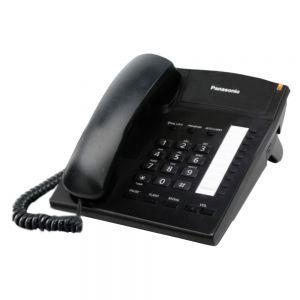 Panasonic KX-TS820MXBD Žični telefon sa 10 tastera za brzo biranje, Redial, Flash, 4 nivoa jačine slušalice i mogućnošču zidne montaže.