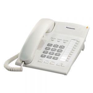 Panasonic KX-TS820MXWD Žični telefon sa 10 tastera za brzo biranje, Redial, Flash, 4 nivoa jačine slušalice i mogućnošču zidne montaže.