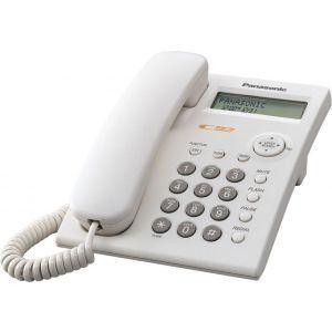 Panasonic KX-TSC11W Žični telefon sa LCD ekranom, identifikacijom poziva, memorijom za brzo pozivanje, zaključavanjem tastature i redial funkcijom.