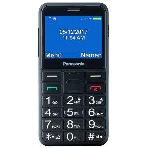 PANASONIC KX-TU150EXB Mobilni telefon za starije osobe sa 2,4-inčni ekranom za lako čitanje, velikim osvetljenim tasterima za lako rukovanje itd.