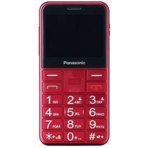 PANASONIC KX-TU150EXR Mobilni telefon za starije sa 2,4-inčni ekranom za lako čitanje, velikim osvetljenim tasterima za lako rukovanje itd.