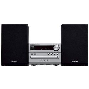 Panasonic SC-PM250EC-S Mikro linija sa LCD displejem, snage 20W sa FM radiom , Bluetooth®, USB i  CD, CD-R/-RW kompatibilnim  plejerom.