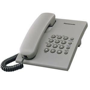 Panasonic KX-TS500FXH Žični telefon sa mogućnošću ponovnog biranje poslednjeg biranog broja, 3 jačine zvuka, montiranja na zid itd.