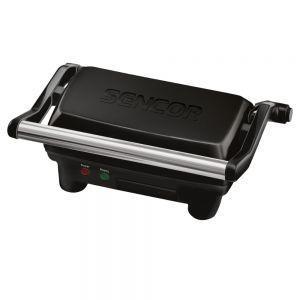 Sencor SBG 2051BK Električni roštilj sa 2 različite površine za pečenje,  idealan za roštiljanje tokom cele godine u zatvorenom prostoru i u vrtu.