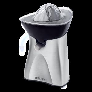 Sencor SCJ 6050SS pogodan za pripremanje svežih sokova od citrusa (soka od pomorandže ili limuna za čaj, itd.