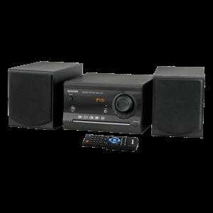 Sencor SMC 603 Mikro linija izlazne snage 2x5W, sa podrškom za CD / CD-R / CD-RW / MP3 / WMA, digitalnim FM radio prijemnikom itd.