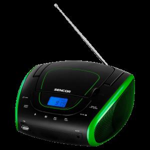 Sencor SPT 1600 BGN CD plejer sa funkcijom podešavanja reprodukcije unapred, memorijom za 20 pesama za CD i 99 pesama za MP3, kompatibilan sa CD-R/RW, MP3.