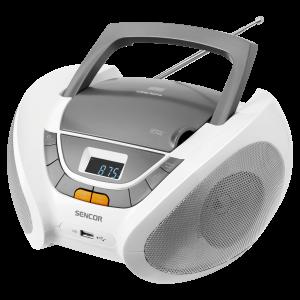 Sencor SPT 232 CD plejer sa funkcijom podešavanja reprodukcije unapred,memorijom za 20 pesama za CD, kompatibilan sa CD-R/RW.