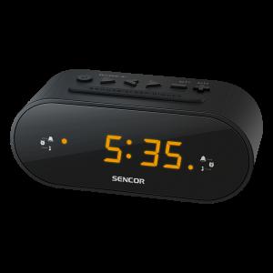 Sencor SRC 1100B radio budilnik sa LED ekran od 0,6 inča za buđenje uz alarm ili podešene radio stanice.