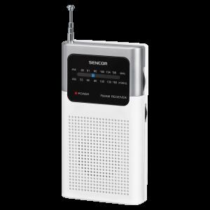 Sencor SRD 1100 W Tranzistor kompaktan i lak za rukovanje, možete ga poneeti sa sobom na putovanje i uživati u svojoj omiljenoj muzici.