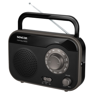Sencor SRD 210 B radio kompaktan i lak za rukovanje, možete ga poneti sa sobom na putovanje i uživati u svojoj omiljenoj muzici.