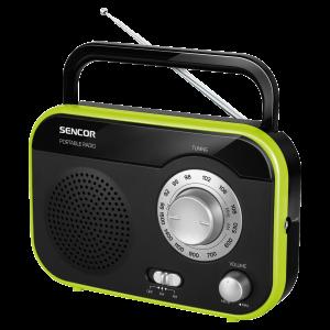 Sencor SRD 210 BGN Radio kompaktan i lak za rukovanje, možete ga poneti sa sobom na putovanje i uživati u svojoj omiljenoj muzici.