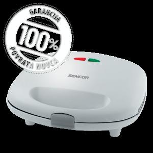 Sencor SSM 9300 Sendvič toster za sendviče, vafle i grilovanje - 3 u 1 sa nelepljivom grejnom površinom i 3 zamenljiva kalupa za pečenje.
