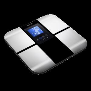 Sencor SBS 6015BK fitnes telesna vaga za procentualno merenje masnoće, vode, mišića i kostiju koja funkcioniše i kao obična telesna vaga