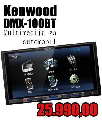 Kenwood DMX-100BT Multimedija