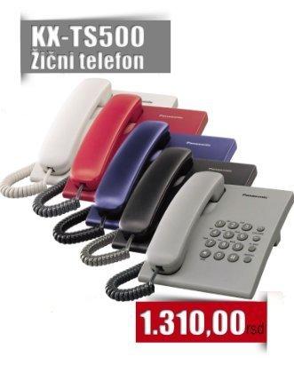 Panasonic TS500 Žični telefon